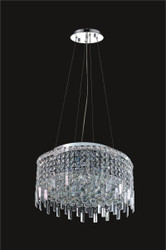 12 Light Modern maxim Crystal Chandeliers KL-41048-28
