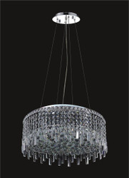 12 Light Modern maxim Crystal Chandeliers KL-41048-24