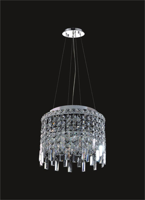 4 Light Modern maxim Crystal Chandeliers KL-41048-14