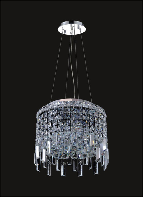 4 Light Modern maxim Crystal Chandeliers KL-41048-12
