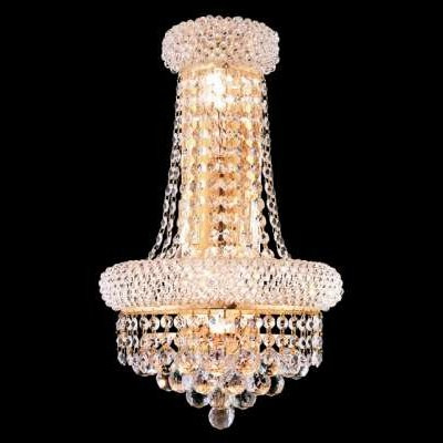 Crystal wall sconces empire style KL-41035-1217-G
