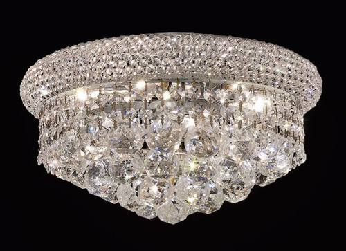 Bagel Crystal Flush Mount Light KL-41035-148-C