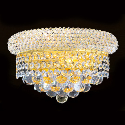 Crystal wall sconces empire style KL-41035-126-G
