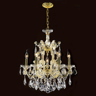 6 Light Maria Theresa crystal chandeliers KL-41039-20-G