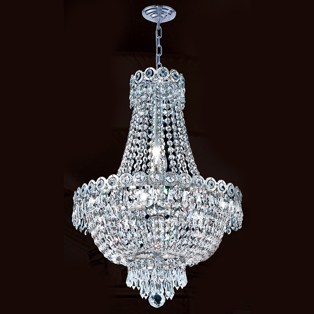 Empire crystal chandelier 1900d16c