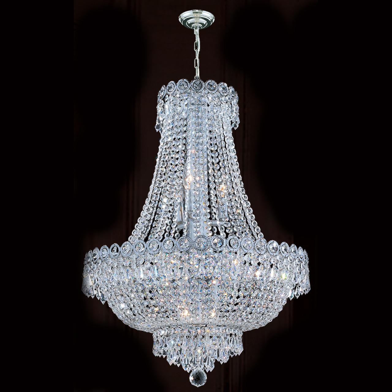 Empire crystal chandelier 1900d20c