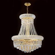 Bagel crystal chandeliers KL-41035-1620-G