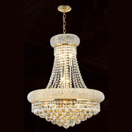 Bagel crystal chandeliers KL-41035-2026-G