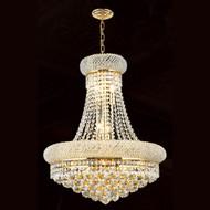 Bagel crystal chandeliers KL-41035-2026-G