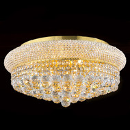 Bagel Crystal flush mount chandeliers KL-41035-2010-G