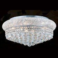 Bagel Crystal flush mount chandeliers KL-41035-2010-C