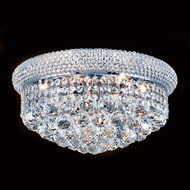 Bagel Crystal flush mount light KL-41035-16-C