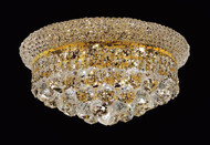 Bagel Crystal Flush Mount Light KL-41035-148-G