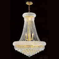 Crystal Bagel chandeliers KL-41035-24-G
