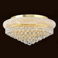Bagel Crystal flush mount chandeliers KL-41035-2412-G