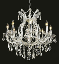 9 Light Maria Theresa crystal chandeliers KL-41039-26-C