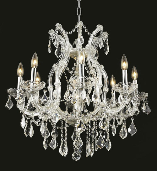 9 Light Maria Theresa crystal chandeliers KL-41039-26-C