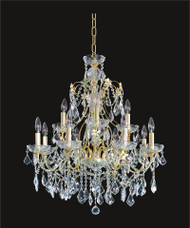 Victorian Crystal Chandeliers KL-41033-2828-G