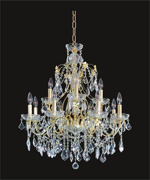 Victorian Crystal Chandeliers KL-41033-2828-G
