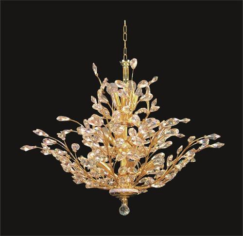 Tree of crystal chandelier KL-41049-4036-G