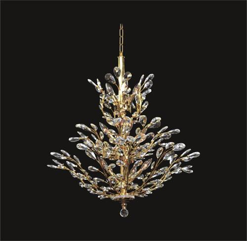 Tree of crystal chandelier KL-41049-3232-G
