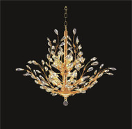 Tree of crystal chandelier KL-41049-3028-G