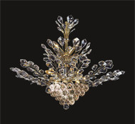 Tree of crystal chandelier KL-41049-3330-G
