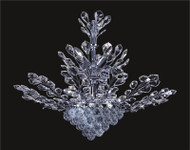 Tree of crystal chandelier KL-41049-3330-C