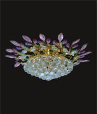 Leaf Of Crystal Chandelier KL-41051-2510-G