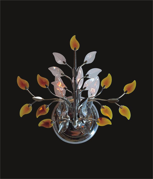 Leaf Of Crystal Wall Sconce KL-41051-1413-C