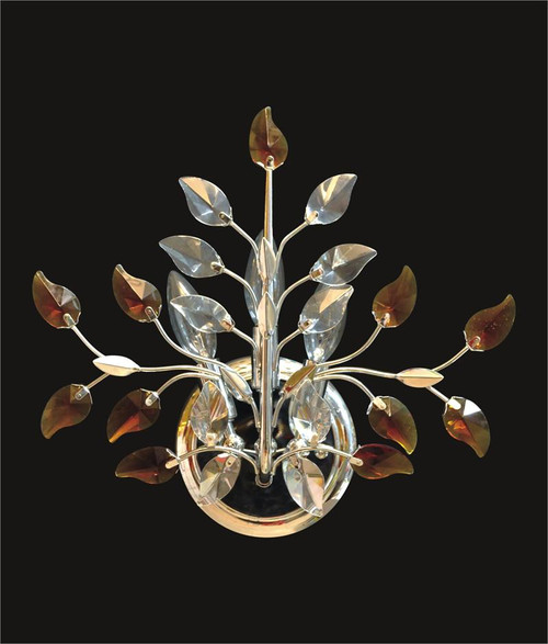 Leaf Of Crystal Wall Sconce KL-41051-1413-G