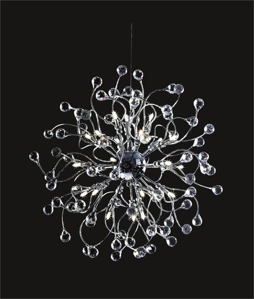 Spider crystal chandelier KL-41050-2424-C ball