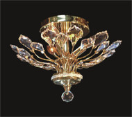 Tree of crystal chandelier KL-41049-1610-G
