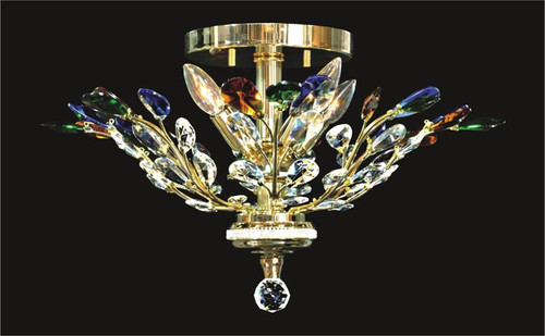 Tree of crystal chandelier KL-41049-2115-G