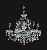 Victorian Crystal Chandeliers KL-41033-2421-C