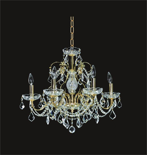 Victorian Crystal Chandeliers KL-41033-2421-G