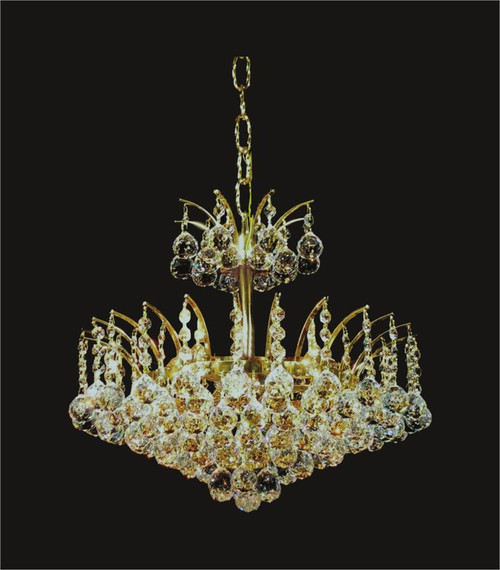 Sirius Collection crystal chandeliers KL-41040-1615-G