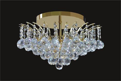 Sirius Collection Crystal Flush Mount KL-41040-1913-G