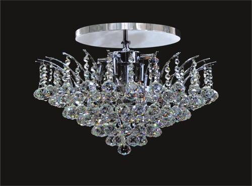 Sirius Collection Crystal Flush Mount KL-41040-1614-C