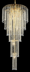 Waterfall Crystal chandeliers KL-41043-2150-G