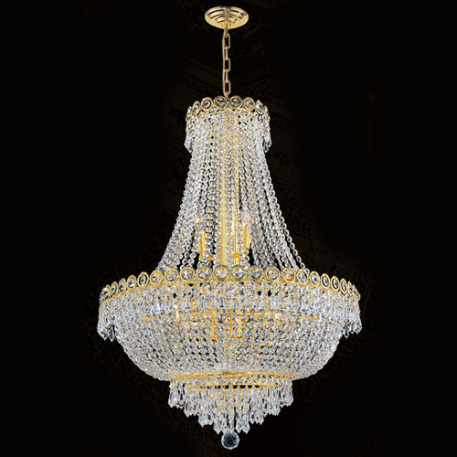 Empire crystal chandeliers KL-41037-24-G
