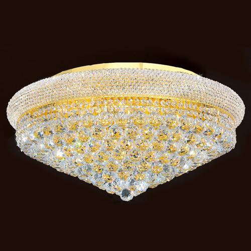Bagel Crystal flush mount light KL-41035-2813-G