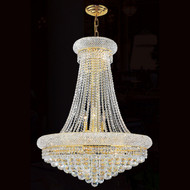 Crystal bagel chandeliers KL-41035-28-G