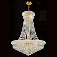 Crystal bagel chandeliers KL-41035-28-G