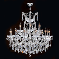 19 Light Maria Theresa Crystal Chandeliers KL-41039-30-C