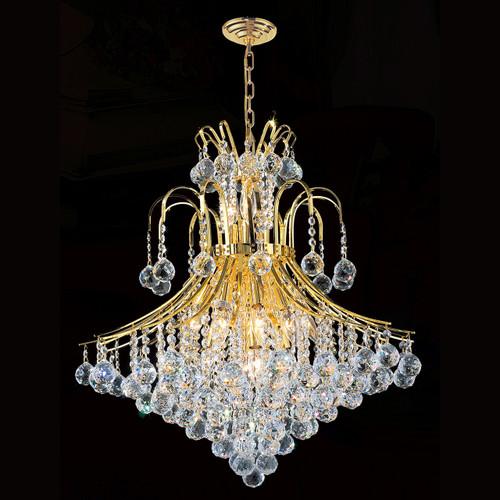 Crystal chandeliers KL-41038-25-G