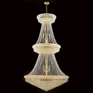 Crystal Bagel Chandeliers KL-41035-42-G