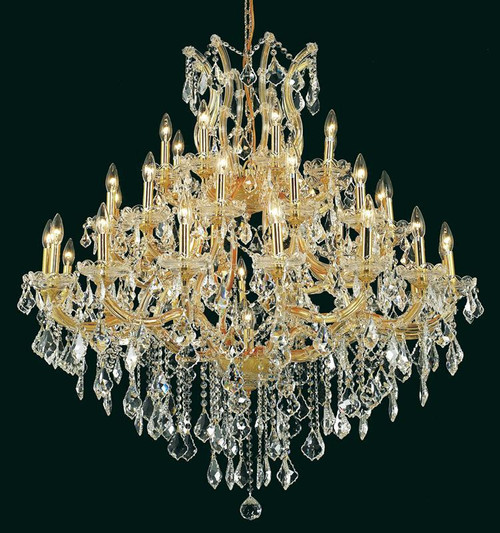 37 Light Maria Theresa crystal chandeliers KL-41039-44-G