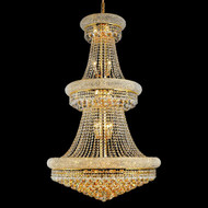 Crystal Bagel Chandeliers KL-41035-3050-G