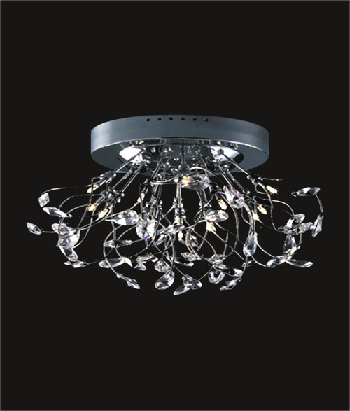 Spider crystal chandelier KL-41050-2414-C